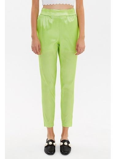 Societa Beli Lastikli Pantalon 41356 Yeşil